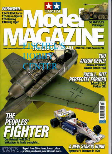 Tamiya Model Magazine November 06 issue 133
