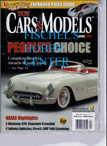 Toy Cars & Models Magazine April 2003