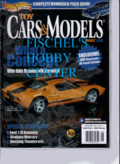Toy Cars & Models Magazine August 2003