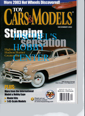 Toy Cars & Models Magazine December 2002