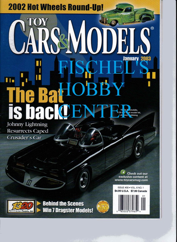 Toy Cars & Models Magazine January 2003