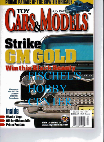 Toy Cars & Models Magazine July 2002