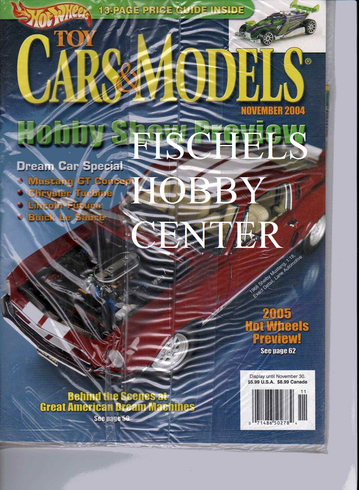 Toy Cars & Models Magazine November 2004