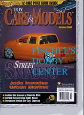 Toy Cars & Models Magazine October 2003