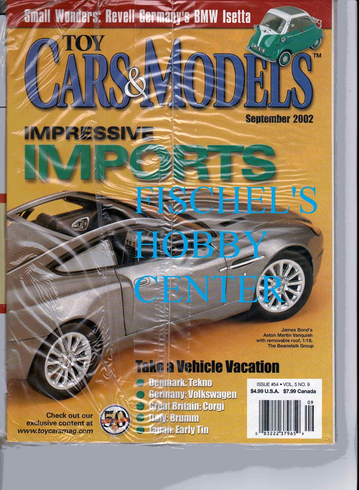 Toy Cars & Models Magazine September 2002