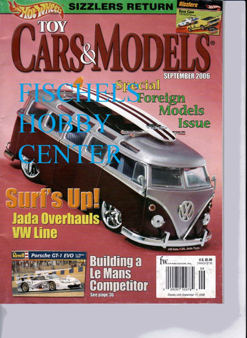 Toy Cars & Models Magazine September 2006