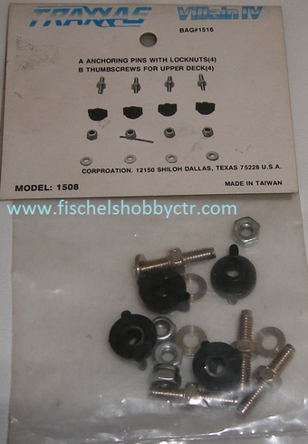 Traxxas 1516 Anchor pins and thumb screws for the Villian IV