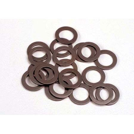 Traxxas 1985 PTFE coated Washers 5x8mm: (20) N S SS TMX.15 2.5 SLY