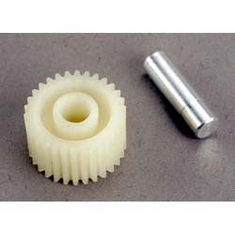 Traxxas 2796 Idler Gear/Gear Shaft:TRX1/3