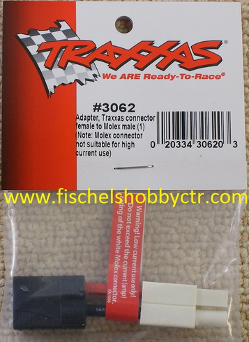 Traxxas 3062 TRA Adapt TRA Conn Female/Stand Male(1)