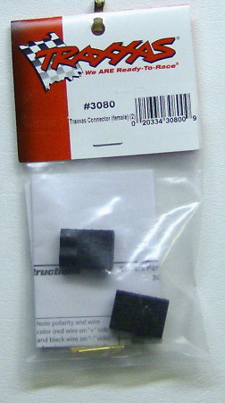 Traxxas 3080 Traxxas black Connector female 2
