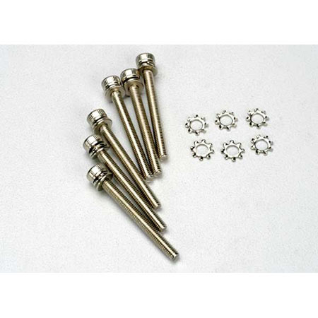 Traxxas 3963 Screws 3x28mm Caphead (12)