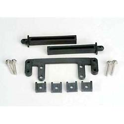 Traxxas 4215 R Body Mount Base Post Clamp:SS,4T