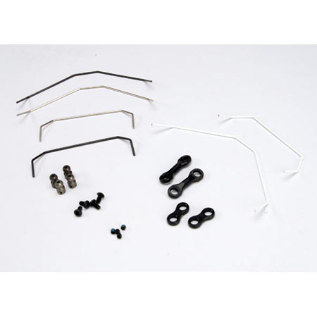 Traxxas 5589x Sway Bar Kit, Front & Rear: Jato