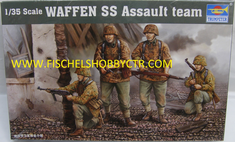 Trumpeter 00405 1/35th Waffen SS Assault team