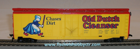 Tyco 365g Old Dutch Cleanser 50' Box car # 3752 Ho scale RTR