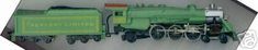 Tyco 4-6-2 H.Pacific Crescent Limited #1396 HO Scale