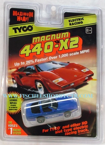 Tyco Magnum 440-x2 Corvette ZR-1 Electric slotcar 9177