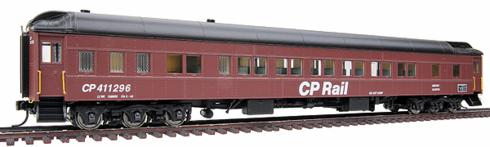 Walthers 932-10022 Canadian Pacific #411296 (MOW Scheme; Boxcar Red, black)