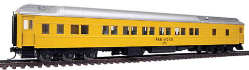 Walthers 932-10024 Pennsylvania Railroad #493731 (MOW Scheme, yellow, silver)
