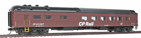 Walthers 932-10172 Canadian Pacific #411297 (MOW Scheme, Boxcar Red, black)