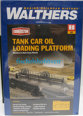 Walthers 933-3104 Tank car oil loading platform HO scale