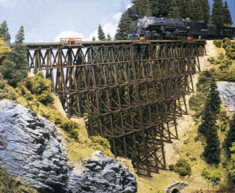 Walthers 933-3217 Timber Trestle N scale