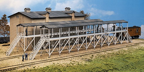 Walthers 933-3245 Ice House & Icing Platform N scale