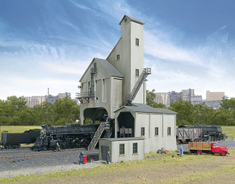 Walthers 933-3262 Modern Coaling Tower N scale