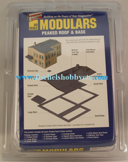 Walthers 933-3720 Peaked Roof & Base - Cornerstone Modulars HO
