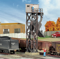 Walthers 933-3816 Cinder Conveyor & Ash Pit N scale