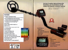 White's Coinmaster GT Metal Detector
