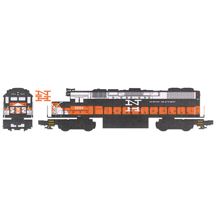 Williams by Bachmann 21309 O Williams GP38 Dummy New Haven # 6694