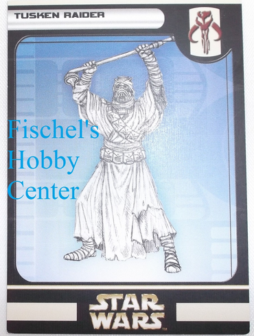 Wizards Star Wars Tusken Raider #4 card 57/60