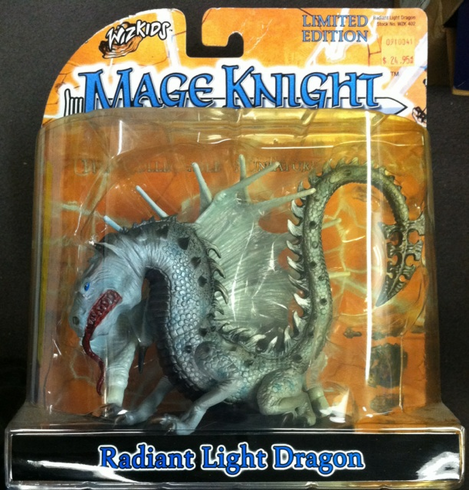 Wizkids WZK402 Radiant Light Dragon Mage Knight Limited Edition