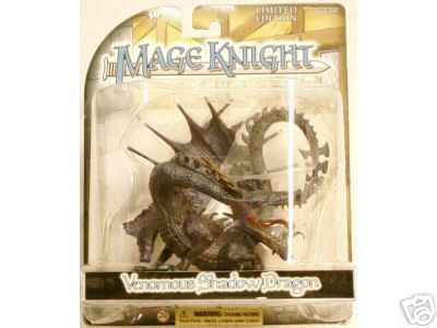 Wizkids WZK403 Venomous Shadow Dragon Mage Knight Limited Edition