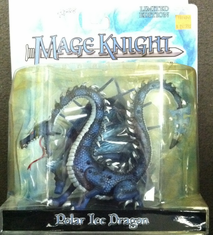 Wizkids WZK401 Polar Ice Dragon Mage Knight Limited Edition