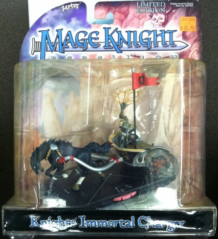 Wizkids WZK405 Knights Immortal Chariot Mage Knight Limited Edition