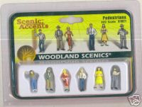 Woodland Scenic Accents A1821 Pedestrian HO