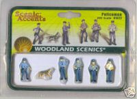 Woodland Scenic Accents A1822 Policemen HO