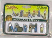 Woodland Scenic Accents A1823 Dock workers HO