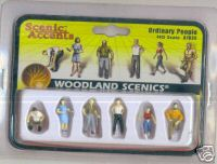 Woodland Scenic Accents A1824 Ordinary People HO