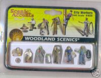 Woodland Scenic Accents A1826 City Workers HO