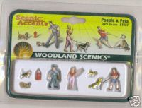 Woodland Scenic Accents A1827 People & Pets HO