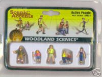 Woodland Scenic Accents A1831 Active People HO