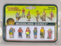 Woodland Scenic Accents A1836 Tourists HO