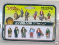 Woodland Scenic Accents A1837 General Public HO