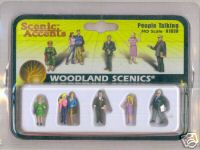 Woodland Scenic Accents A1838 People Talking HO