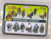 Woodland Scenic Accents A1840 Travelers HO