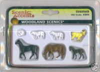 Woodland Scenic Accents A1844 Live stock HO